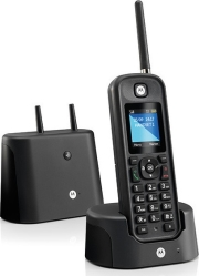 motorola o201 outdoor dect phone black photo