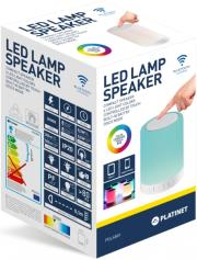 platinet pdlsb01 touch led lamp bluetooth speaker photo