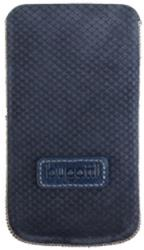 bugatti pouch perfect scale for iphone 4 4s blue leather photo
