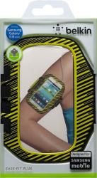belkin f8m546vfc02 mini bracelet case easyfit black yellow gia samsung s3 mini fabric photo