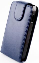 leather case for htc windows 8x blue photo