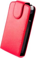 leather case for sony xperia miro red photo