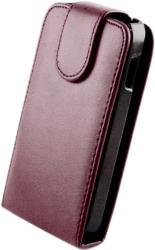 leather case for sony xperia v purple photo