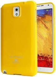 thiki tpu goospery samsung n9005 galaxy note 3 jelly series yellow photo