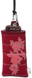 hama 91630 maple mobile phone case red universal photo