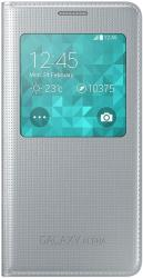 samsung cover s view ef cg850bs for galaxy alpha g850 silver photo