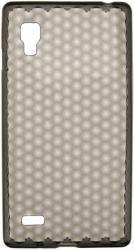 trendy8 diamond series tpu sleeve for lg optimus l9 p760 smokey grey photo
