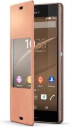 sony style cover scr24 for xperia z3 copper photo