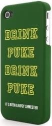 g cube a4 gphd 4g hard case for iphone 4 drink puke green photo