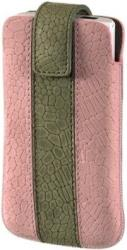 hama 109343 chic case mobile phone sleeve m pink green universal photo