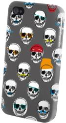 greengo fashion crazy skulls for samsung j100 photo