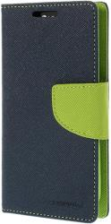 mercury fancy diary case for apple iphone 4 4s navy blue lime photo