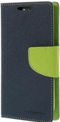 mercury fancy diary case for apple iphone 5 5s navy blue lime photo