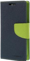 mercury fancy diary case for samsung g358 core lite navy lime photo