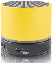 forever bs 100 bluetooth speaker yellow photo