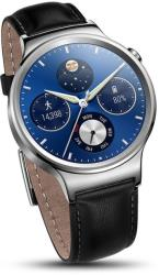 huawei watch classic leather armband silver photo
