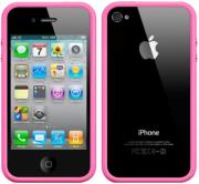 apple mc669zm b bumper case for iphone 4 4s pink photo