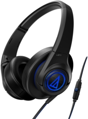 audio technica ath ax5is sonicfuel over ear headphones for smartphones black photo