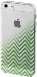 hama 137820 blurred lines cover for apple iphone 5 5s se green photo