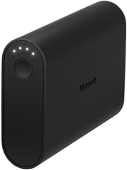 microsoft dc 33 portable dual charger 9000mah black photo