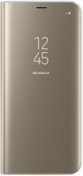 samsung flip case clear view ef zg955cf for galaxy s8 plus gold photo