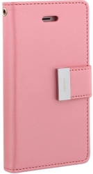 MERCURY GOOSPERY RICH DIARY FLIP CASE SAMSUNG GALAXY S8 PLUS G955 PINK / HOT PINK