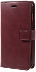 MERCURY GOOSPERY MANSOOR DIARY FLIP CASE APPLE IPHONE 7 PLUS WINE RED