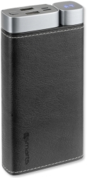 4smarts volthub leatherette dual port power bank 20000mah black photo
