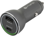 4smarts fast car charger voltroad ipd with quick charge 30 and power delivery photo