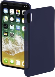 hama 181605 ultra slim cover for apple iphone x dark blue photo