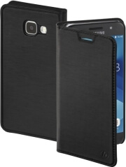 hama 178727 slim booklet case for samsung galaxy a5 2017 black photo