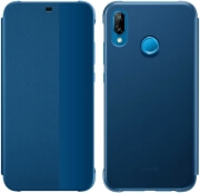 huawei smart view flip cover for p20 lite blue photo