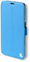 4smarts flip case supremo for samsung galaxy s7 blue photo