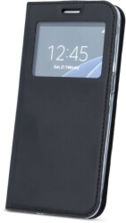 smart look flip case for huawei p20 black photo