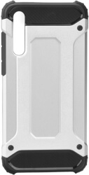 forcell armor back cover case for huawei p20 pro silver photo