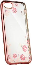 forcell diamond back cover case for huawei p20 lite pink gold photo
