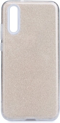 forcell shining back case for huawei p20 gold photo