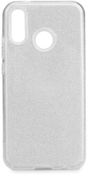 forcell shining back case for huawei p20 lite silver photo
