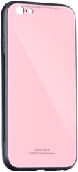 glass back cover case for huawei p20 pink photo