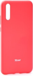 roar colorful jelly back cover case for huawei p20 hot pink photo