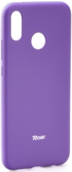 roar colorful jelly back cover case for huawei p20 lite purple photo