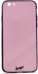 beeyo glass back cover case for apple iphone 7 iphone 8 pink photo