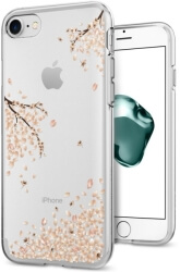 spigen liquid shine back cover case for apple iphone 7 8 blossom transparent photo