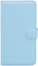 flip book case for sony xperia e4 foldable light blue photo