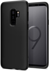 spigen liquid back cover case for samsung galaxy s9 plus matte black photo