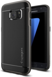 spigen neo hybrid back cover case for samsung galaxy s7 gunmetal photo