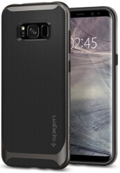 spigen neo hybrid back cover case for samsung galaxy s8 plus gunmetal photo