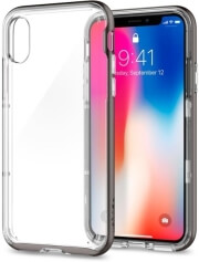 spigen neo hybrid crystal back cover case for apple iphone x gumnetal photo