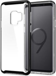 spigen neo hybrid crystal back cover case for samsung galaxy s9 midnight black photo