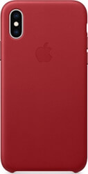 apple mrwk2zm a iphone xs leather case product red photo
